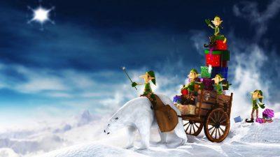 Christmas, Hd, Image, Snowman, Widescreen