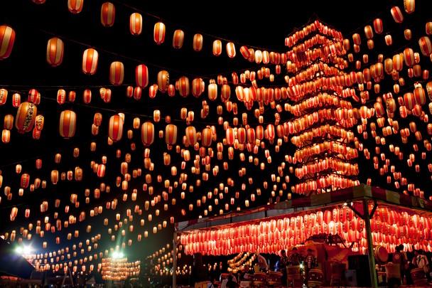 Obon Festival Background