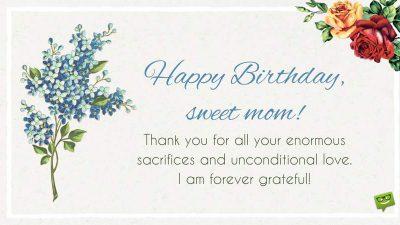 Background, Birthday, Gratefull, Mom, Sweet