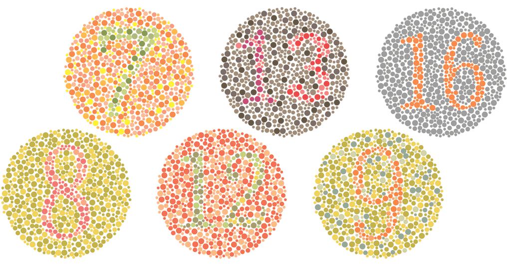 Colour Blind Test Wallpaper