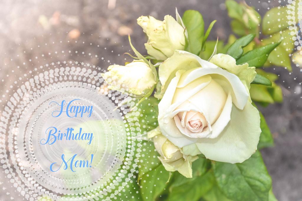 Happy Birthday Mom Image