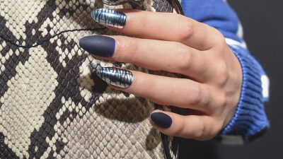 Black, Design, Image, Nail, Nice