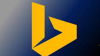 Bing, Hd, Image, Logo, Yellow