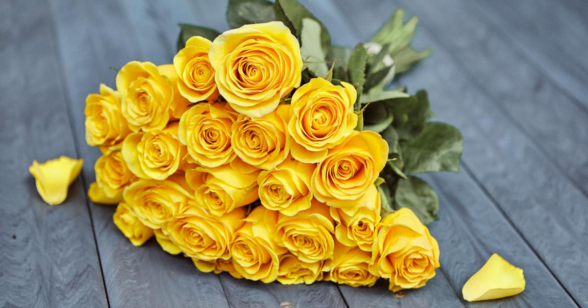 Yellow Rose Photo Beautiful Bouqet Desktop Wallpaper Yellow Flowers 8380