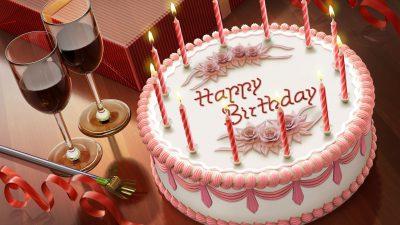 Birthday, Cake, Candle, Happy, Image