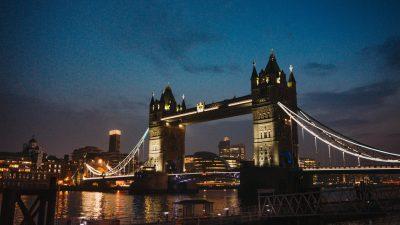 Beautiful, Big, Bridge, Image, Night, Tower, View