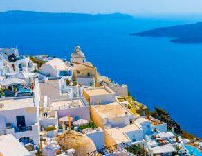 Beautiful, Greece, House, Natural, Sea, Wallpaper