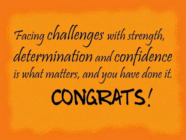 Congratulations Quote