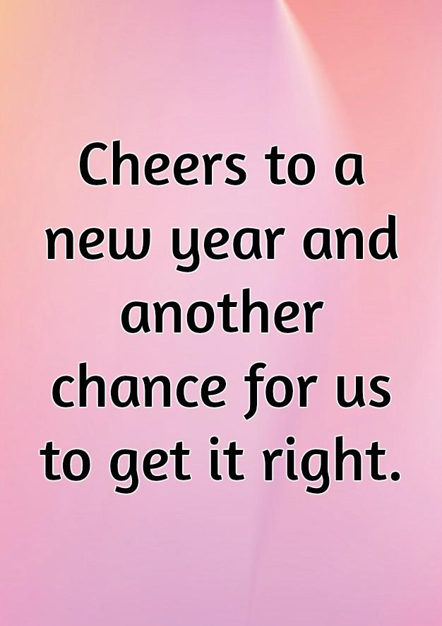 New Year Quote Photo