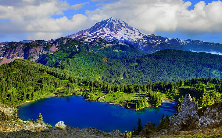 Mount Rainier Wallpaper