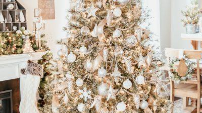 Christmas, Elegant, Gold, Image, Silver, Tree