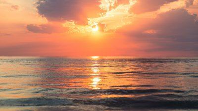 Beautiful, Desktop, Natural, Sundown, Wallpaper