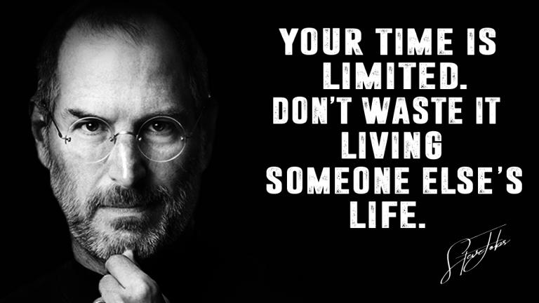 Steve Jobs Quote Image