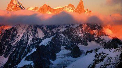 Beautiful, Blanc, France, Image, Mont, Natural