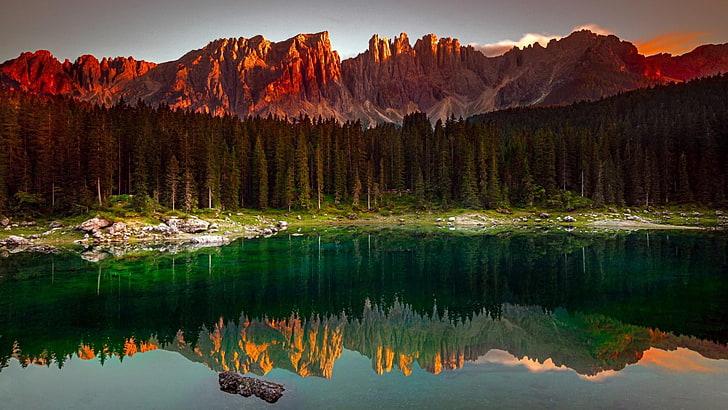 Karersee Lake Backgrounds