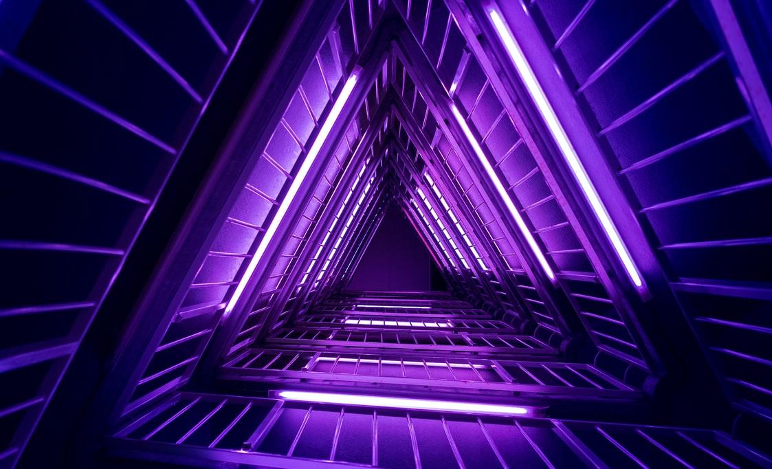 Purple Desktop Photo
