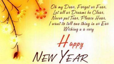 Happy, New, Poem, Wallpaper, Year