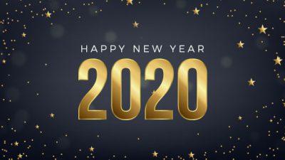 2020, Desktop, Happy, New, Wallpaper, Year