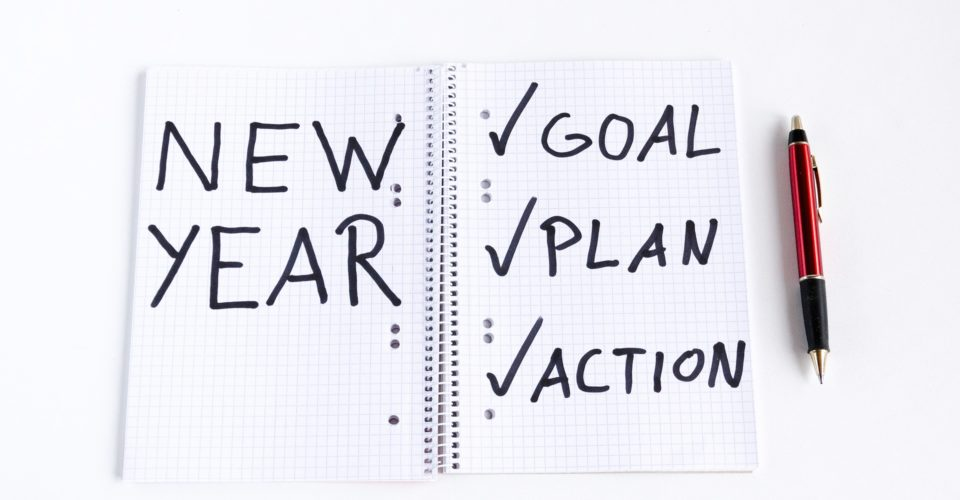 New Year Resolution Background
