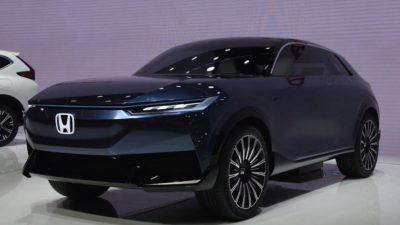 Car, Concept, E, Eletrick, Honda, Image, SUV