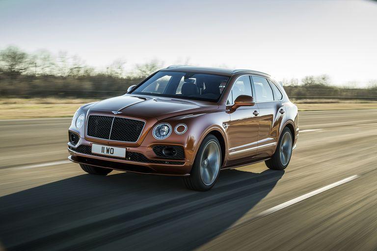 Bentley Bentayga Hybrid Photo