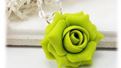 Background, Green, Neckles, Rose