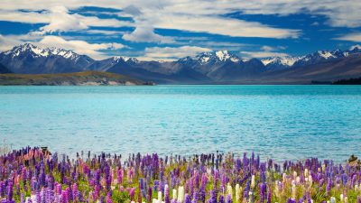 Awesome, Best, Clouds, Lake, Natural, Tekapo, White