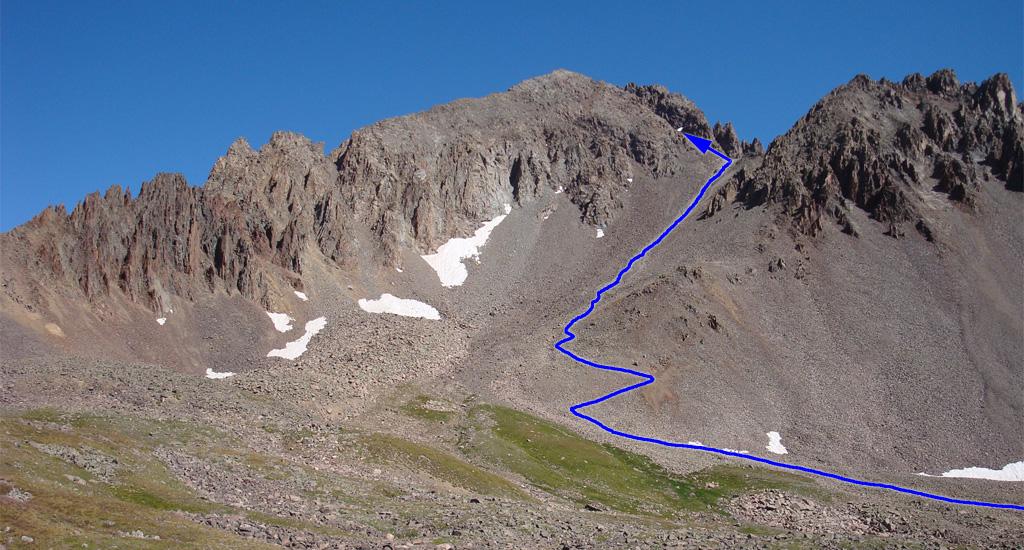 Mount Sneffels Picture