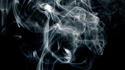 Black, Cube, Fum, Image, Smokes