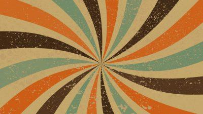 Colorful, Image, Lines, Spiral, Vintage