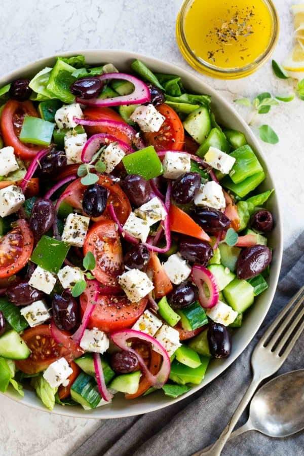 Greek Salad Picture