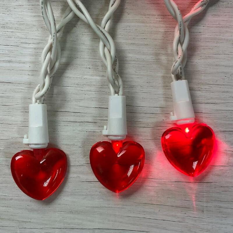 Heart Lights Backgrounds