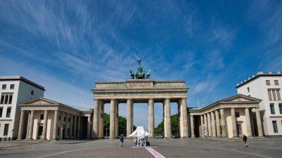 Brandenburg, Full, Gate, Image, Top