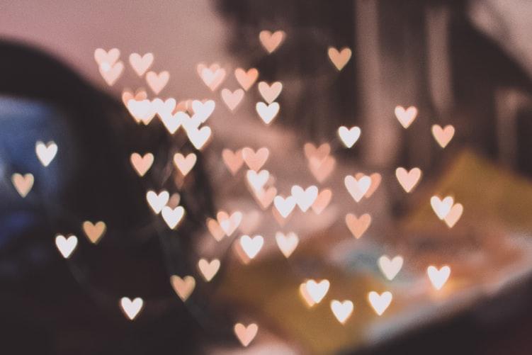 Heart Lights Wallpapers