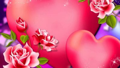 Floral, Flower, Hd, Heart, Wallpaper