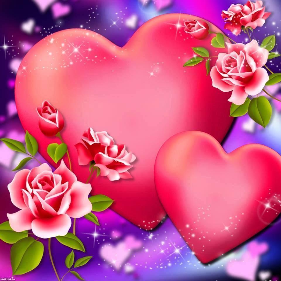 Heart Flower Backgrounds