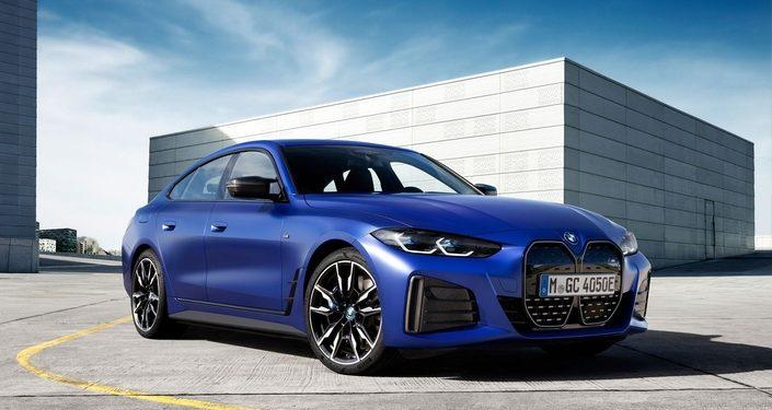 BMW i4 Background