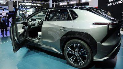BZ4X, Car, Full, Green, Image, Top, Toyota