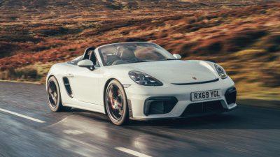 718, Car, Free, Image, Porsche, Spyder, White