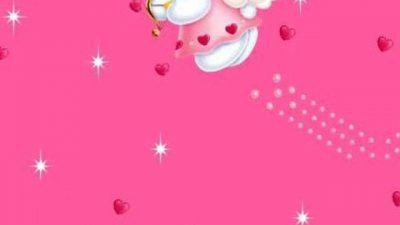 Beautiful, Hd, Kitty, Pink, Wallpaper