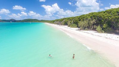 Beach, Beautiful, Clouds, Image, Sea, White, Whitehaven