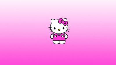Background, Free, Hd, Kitty, Pink