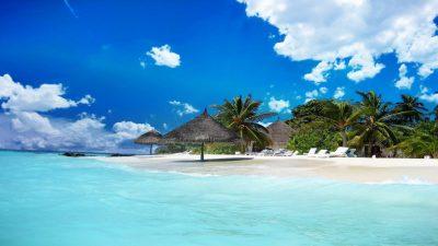 Clouds, Jamaika, Natural, Wallpaper, White