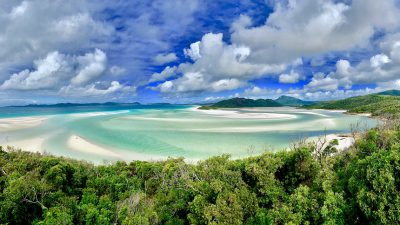 Beach, Green, Image, Tree, Whitehaven, Widescreen