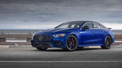 63, Blue, Car, GT, Mercedes-AMG, S