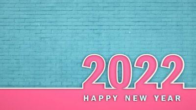 2022, Happy, Hd, New, Wallpaper, Year