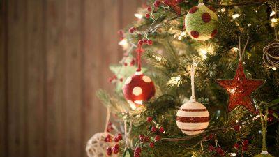 Art, Christmas, Tree, Wallpaper, Wonderful