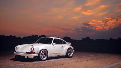 Car, Full, Image, Porsche, Singer, Sundown, Top