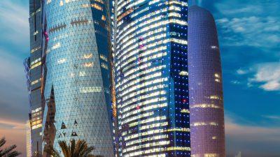 Beautiful, Evening, Housing, Qatar, Wallpaper