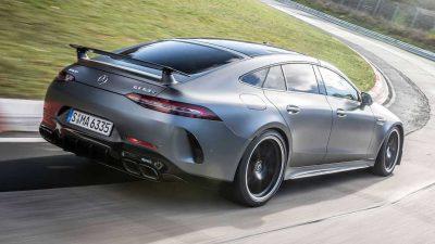 63, Back, Grey, GT, Mercedes-AMG, S, Side